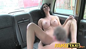FakeTaxi Hot sexy big tits and tight jeans